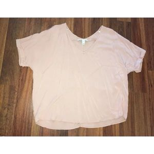 Forever 21 Contemporary Size Large LG Top Pink
